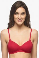 3ef58eaf447 Amante Red Solid Padded T Shirt Bra for women price in India on 12th ...