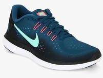 cd3f8a822be Nike Flex 2017 Rn Blue Running Shoes for women - Get stylish shoes ...