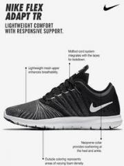 d4c223bb766e Nike Flex Adapt Tr Black Training Shoes for women - Get stylish ...