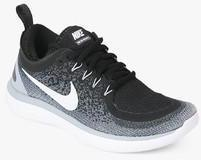 f3dceb96a9b3 Nike Free Rn Distance 2 Black Running Shoes for women - Get stylish shoes  for Every Women Online in India 2019