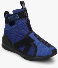299207c6fb38 Puma Fierce Strap Wn S Blue Training Shoes for women - Get stylish ...