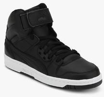 b62b7a8b2600 Puma Rebound Street L Black Sneakers for Men online in India at Best ...