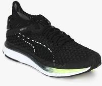 4e472a4f4203 Puma Speed Ignite Netfit 2 Black Running Shoes for Men online in ...