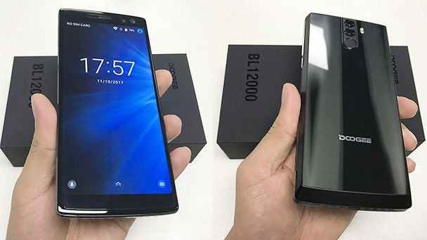 Doogee BL12000 with 12000mAH battery