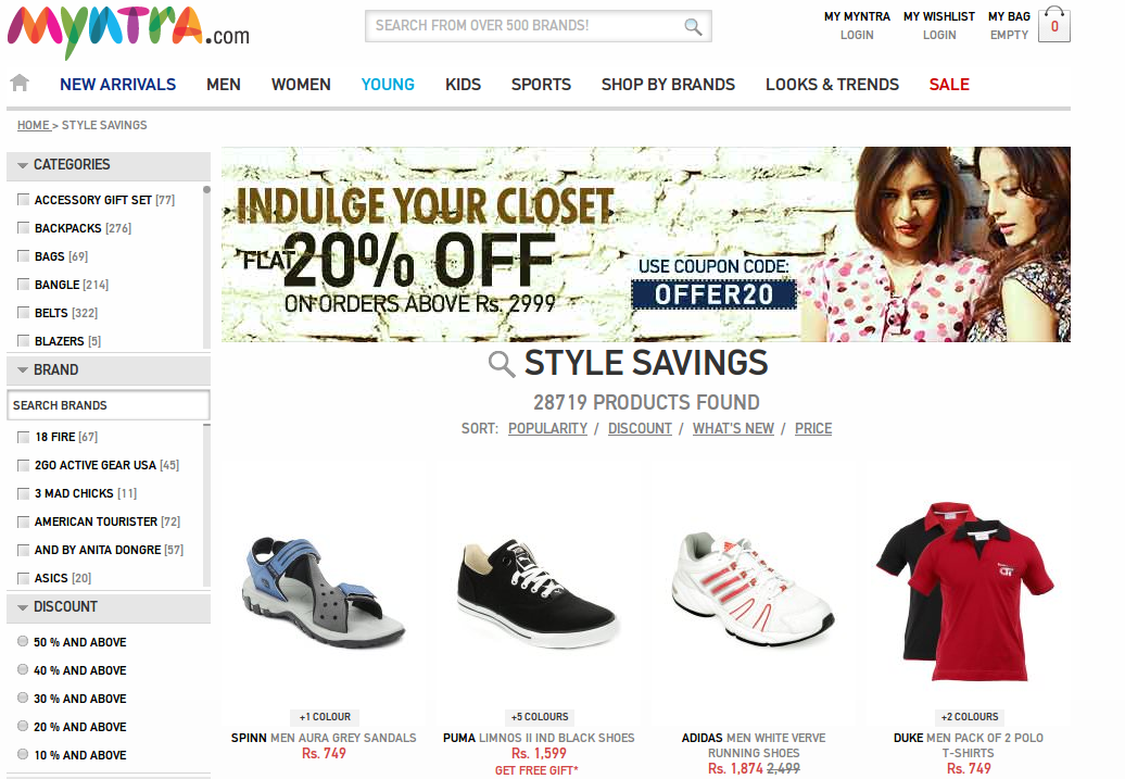 New Print Account Myntra Sale Coupons OtYddwq 18d9bc98c