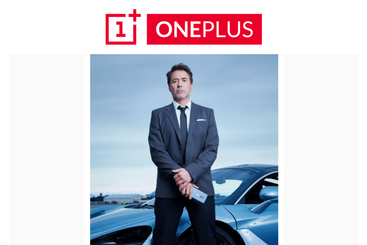 Iron Man to feature in Oneplus 7 Pro brand campaign