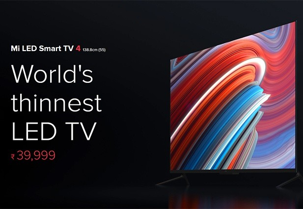 Mi TV 4 : World's thinnest TV