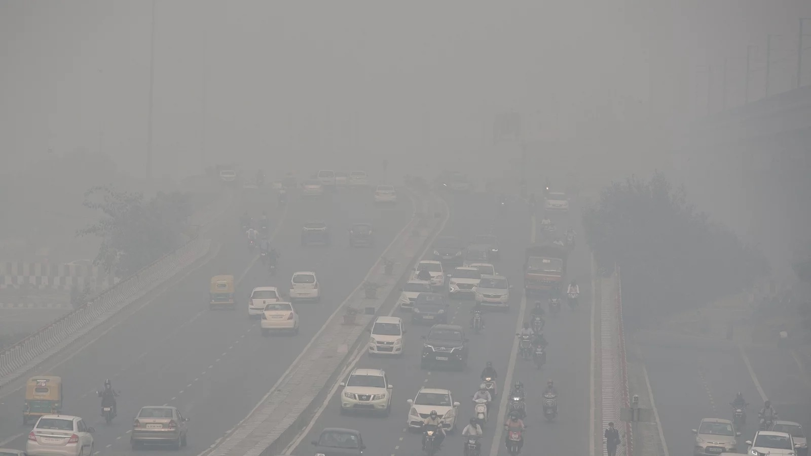 Northern India Pollution in November 2019