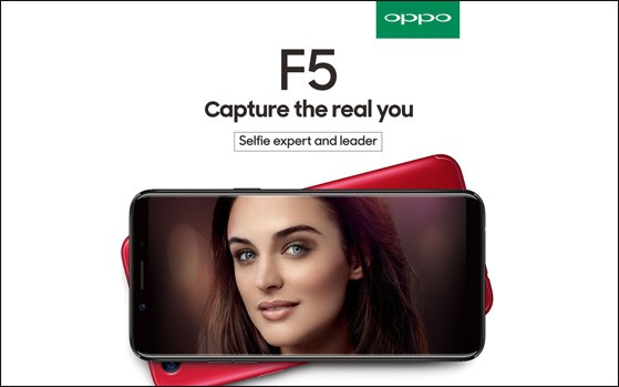 Oppo F5 6GB variant is available for PreOrder