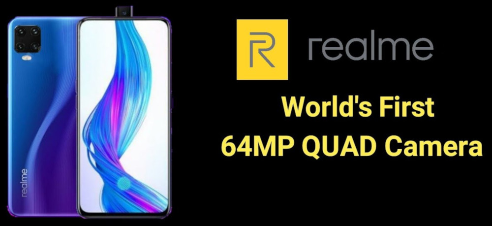 Realme to launch world's first 64MP camera phone in India
