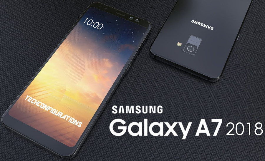 samsung galaxy A7 2018 launched with triple rear camera