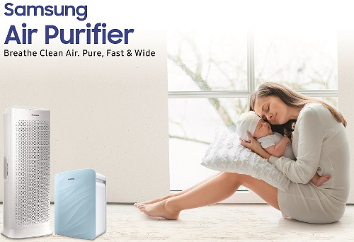 Samsung launches air purifiers models AX7000, AX3000 in India