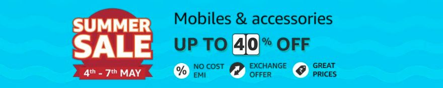 upto 40% off on mobiles