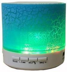 A Connect Z Multicolor LED Light S 10 Best Quality Sound Base 258 Portable Bluetooth Mobile/Tablet Speaker
