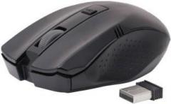 Adnet Premium Design Black Wireless Optical Mouse (USB)