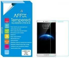 Affix Tempered Glass Guard for Oppo R7 Plus