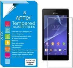 Affix Tempered Glass Guard for Sony Xperia M2 Dual 4.8