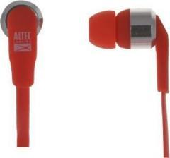 Altec Lansing New MZX145 Red Wired Headset With Mic