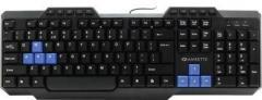 Amkette 398 Wired USB Standard Keyboard