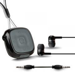Amkette Trubeats Clip On Ultra Portable Wireless Headset