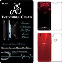 As Front and Back Screen Guard for OPPO F7
