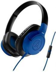 Audio Technica ATH AX1iS BL Wired Headset
