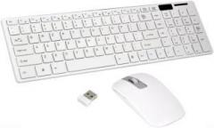Baluda BD key board 03 Wireless Laptop Keyboard (Whitecolor)