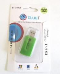 Bluei All In One Memory Card Reader USB 2.0