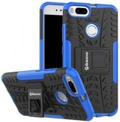 Bracevor Back Cover for Mi A1 (Rugged Armor, Rubber, Plastic)