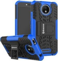 Bracevor Back Cover for Motorola Moto C Plus (Grip Case, Rubber, Plastic)