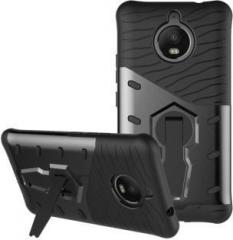 Bracevor Back Cover for Motorola Moto E4 Plus (Grip Case, Rubber, Plastic)