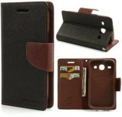 Brand Fuson Wallet Case Cover for Mercury Goospery Flip Cover for Samsung galaxy J 7