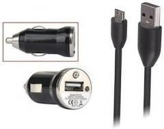 Callmate Bullet Car Charger with Micro Data & Charging Cable