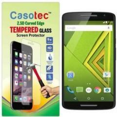 Casotec Tempered Glass Guard for Motorola Moto X Play