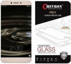 Chevron Tempered Glass Guard for LeEco Le 2, Letv 1S, 1s Eco