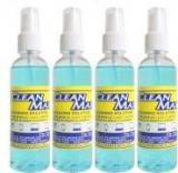 Cleanmax CLEANING SOLUTION 100ml Pack Of 4 For Mobiles, Laptops, Computers, Gaming