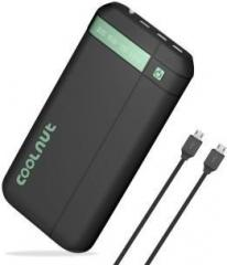 Coolnut 20000 mAh Power Bank (Ultra High Capacity, Lithium ion)