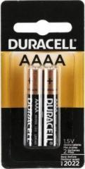 Duracell SPECIALTY ALKALINE AAAA BATTERIES 1, 5V, Pack of 2 Battery