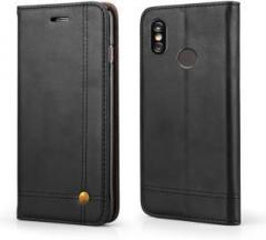 best website c5338 3271e Febelo Flip Cover for Mi Redmi Note 5 Pro (Cases with Holder, Artificial  Leather)