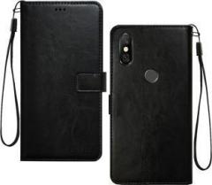 450393e8116 Febelo Flip Cover for Mi Redmi Note 6 Pro (Artificial Leather) price ...