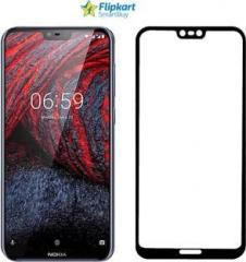 reputable site 256cc 9a6c3 Flipkart Smartbuy Edge To Edge Tempered Glass for Nokia 6.1 Plus