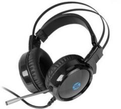 Hp Wired Gaming with 3.5mm Jack And USB Wired Headset with Mic (Over the Ear)