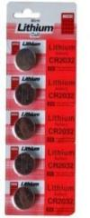 Inditrust Pack of 20 Micro Lithium Cell CR2032 Coin 3v PACK of 20 Battery