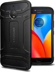 purchase cheap 81fec 2305d Kapaver Back Cover for Motorola Moto E4 Plus (Plastic)