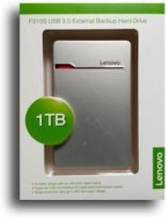 Lenovo 1 TB External Hard Disk Drive (External Power Required)