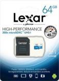 Lexar High Perfomance Mobile Solution 64 GB MicroSDXC Class 10 45 MB/s Memory Card