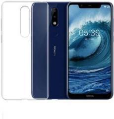Maxpro Back Cover for Nokia 5 1 Plus (Transparent)