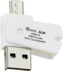 Oxza Micro SD OTG USB 2.0 TWO IN ONE ANDROID ADAPTOR Card Reader