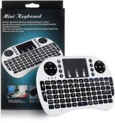 Psyche Cute Portable 92 Keys with Mouse Touchpad Bluetooth, Wireless Multi device Keyboard