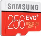 Samsung Evo Plus 256 GB MicroSDXC Class 10 90 MB/s Memory Card (With Adapter)